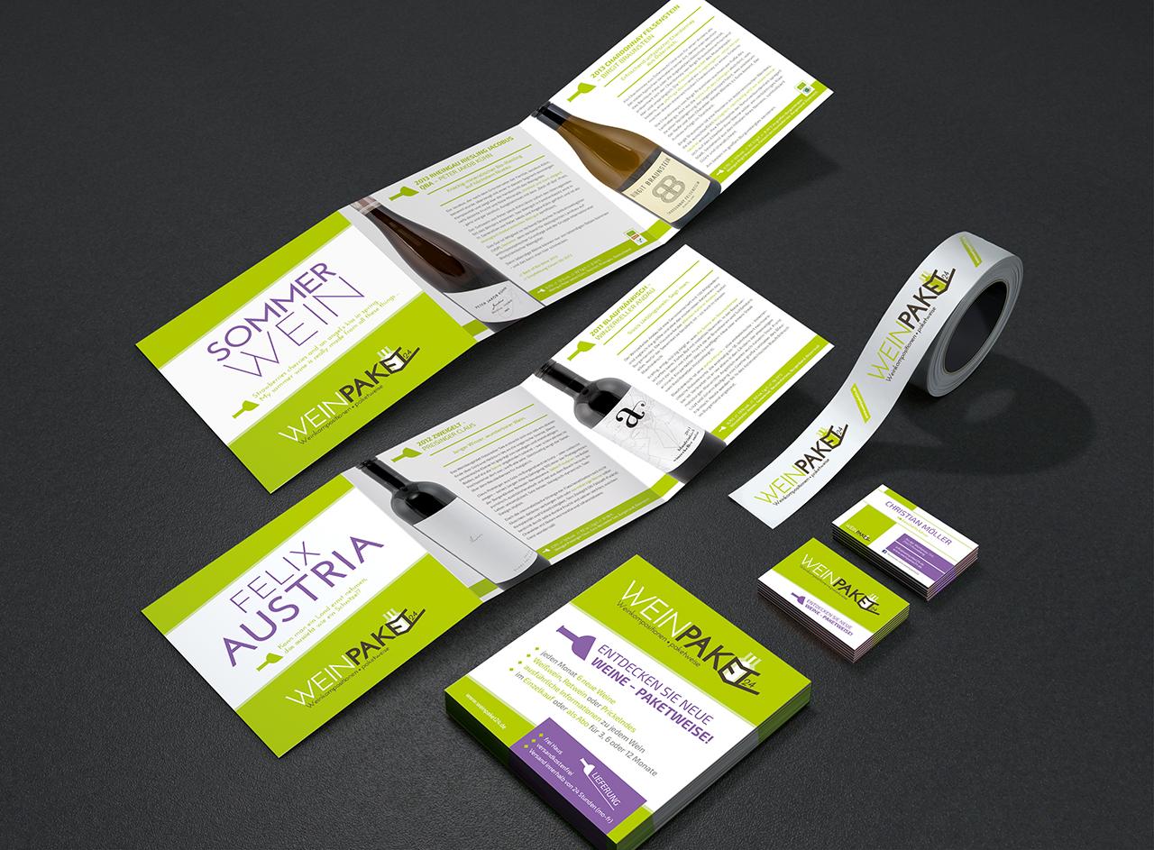 Corporate Design Für Startup Weinpaket24 De